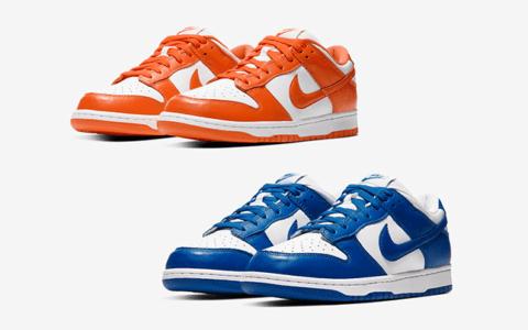 两款神级配色Nike Dunk Low释出官图!下月发售!