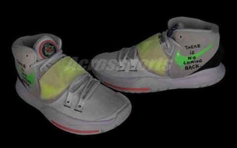 欧文最新战靴再迎新配色!这双Kyrie 6你中意吗? 货号:BQ4631-005