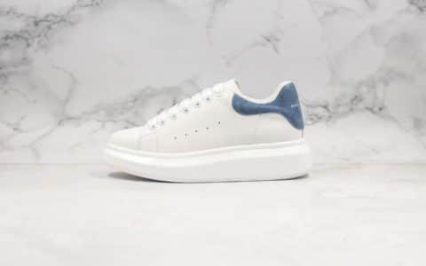 亚历山大Alexander McQueen sole sneakers纯原版本麦昆蓝绒尾配色原档案数据开发原盒配件