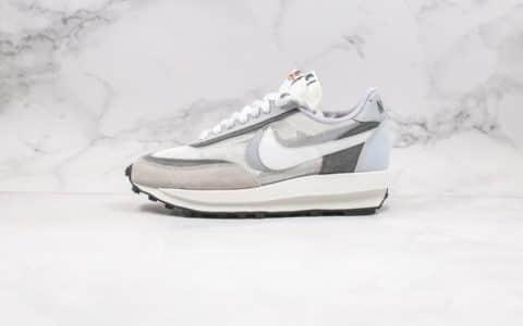 耐克Nike LVD Waffle Daybreak x Sacai纯原版本华夫联名款解构美学灰色正确组合鞋底原盒原标 货号:BV0073-100