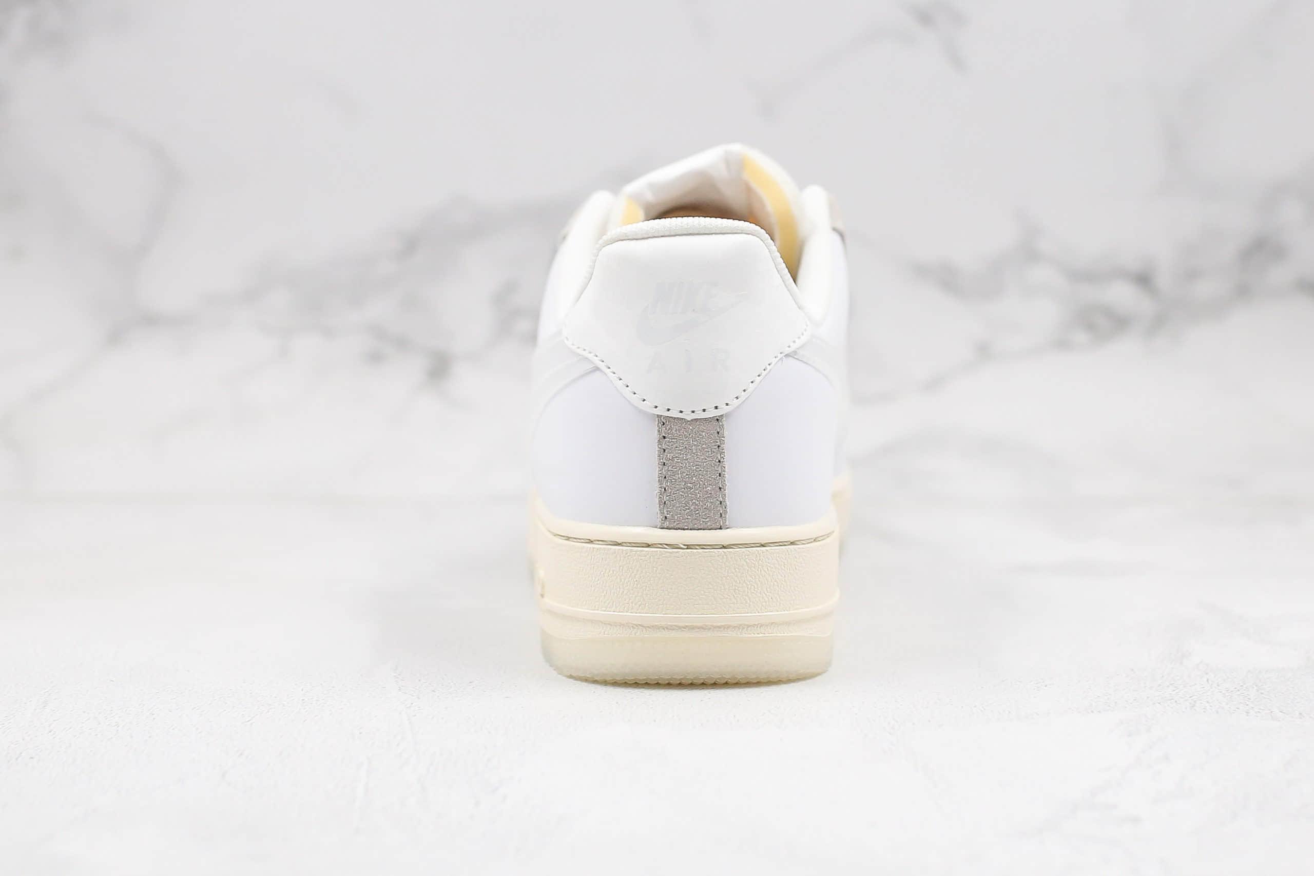 耐克Nike Air Force 1 Low DNA纯原版本低帮空军一号解构DNA米白色内置气垫透明鞋底原盒原标 货号:CV3040-100