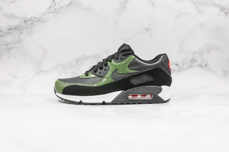 耐克Nike Air Max 90 QS纯原版本Max90气垫鞋黑