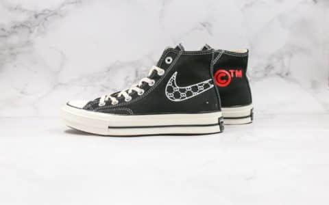 匡威Converse Chuck 70 x Nike联名款公司级版本黑白大钩高温变色红色原盒原标正确硅蓝软中底原厂硫化