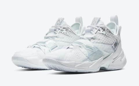 威少最新战靴Jordan Why Not Zer0.3新配色现已发售清爽百搭 货号:CD3003-103