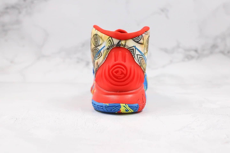 耐克Nike Kyrie 6 Pre-Heat Guangzhou纯原版本欧文6代城市限定广州配色内置气垫支持实战一比一开发 货号:CQ7634-409
