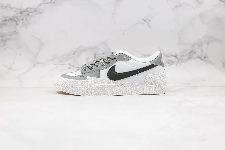 耐克Nike Blazer High Black University Blue x Saca