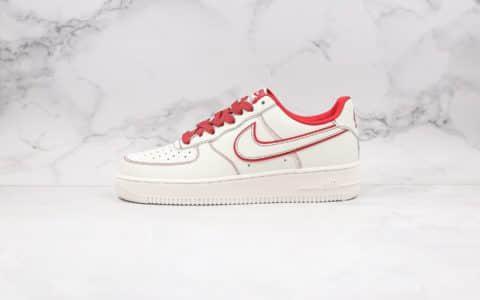 耐克Nike Air Force 1 '07 LV8 3M纯原版本低帮空军一号满天星红白兔八哥内置气垫原盒原标鞋面高清洁度 货号:315122-707