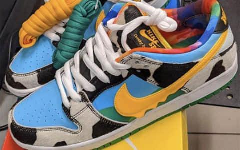 冰淇淋跨界联名!全新Ben & Jerry's x Nike SB Dunk Low今夏发售!
