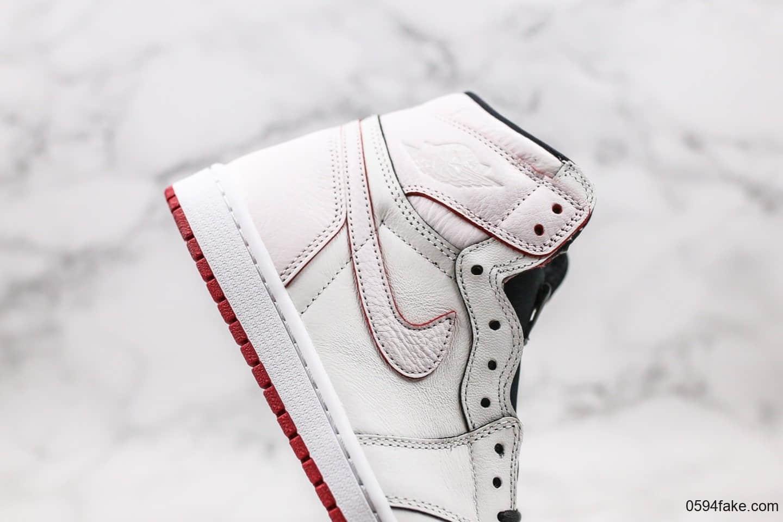 耐克Nike SB x Air Jordan 1 Lance Mountain纯原版本乔丹联名款白红蓝鸳鸯刮刮乐原档案数据开发正确内层 货号:653532-100