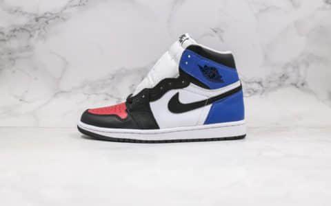 乔丹Air Jordan 1 Retro High OG纯原版本高帮AJ1狼图腾3D印花图黑红脚趾配色原厂大底高清洁度鞋面 货号:DC7071-610