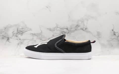 古驰Gucci乐福鞋公司级版本NY一脚蹬黑色精准复刻头层猪皮内里