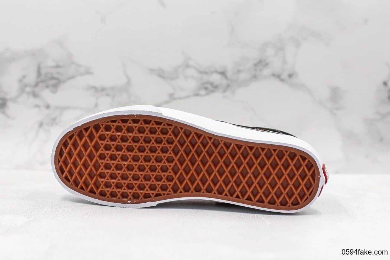 万斯Vans ERA公司级版本低帮帆布鞋黑色白鸽和平鸽印花配色区别市面通货 货号:VN0A38FRTNZ