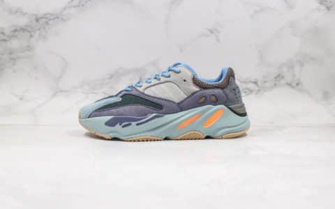 阿迪达斯Adidas Yeezy Boost 700纯原版本椰子700初代碳蓝复古老爹鞋内置爆米花中底原盒原标 货号:FW2498