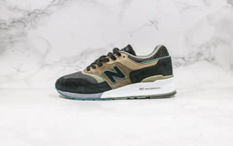 新百伦New Balance 997纯原版本高端美产棕绿色原盒原标区别市面通货版本 货号:M997CNR