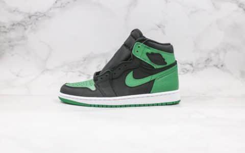 乔丹Air Jordan 1 High og纯原版本高帮AJ1新黑绿脚趾正确后跟定型工艺原盒原标 货号:555088-030
