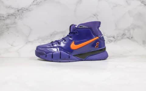耐克Nike Zoom Kobe 1 Protro纯原版本科比一代元年复刻紫色全掌一体Zoom气垫真碳板加持支持实战 货号:AQ2728-101