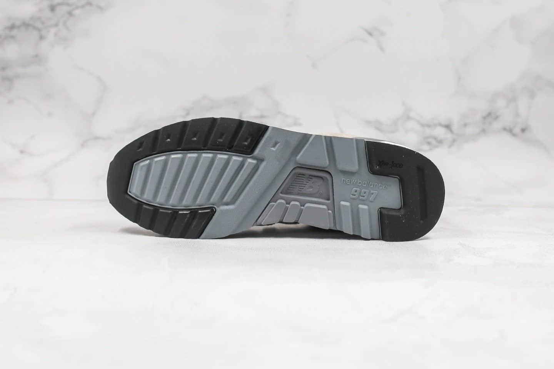 新百伦New Balance 997纯原版本高端美产慢跑鞋原盒原标原档案数据开发 货号:M997GY2