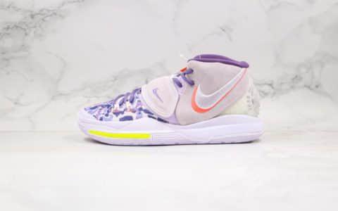 耐克Nike Kyrie 6纯原版本欧文6代豹纹紫色实战篮球鞋内置气垫支持实战原盒档案数据开发 货号:CD5301-500
