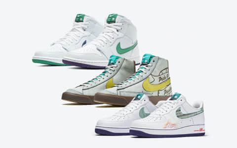 Nike NBA球星套装!颜值出众细节丰富!