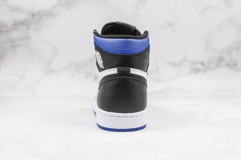 乔丹Air Jordan 1 Obsidian纯原版本高帮AJ1新黑蓝脚趾原盒原标正确后跟定型小蛮腰 货号:555088-041