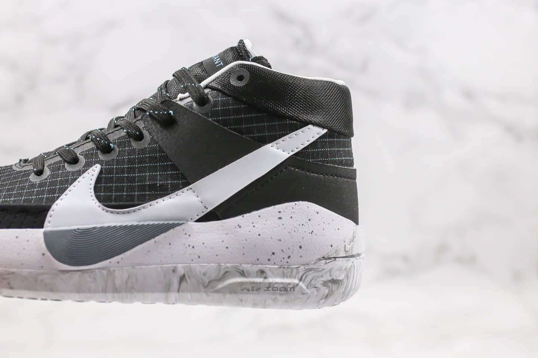 耐克Nike Zoom KD 13 EP纯原版本杜兰特13代篮球鞋黑白配色内置气垫支持实战 货号:CI9949-001