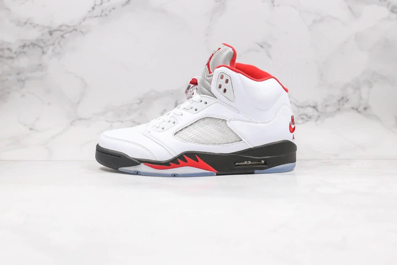 乔丹Air Jordan 5 Fire Red纯原版本流川枫配色AJ5 OG元年复刻配色原档案数据开发原盒