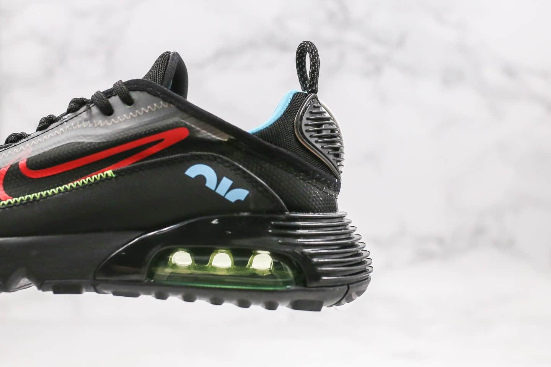 耐克Nike Air Vapormax 2090公司级版本太空大气垫王一博同款黑红色原厂气垫 货号:CT7695-006
