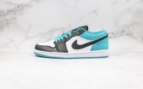 耐克Nike Air Jordan 1 Low Laser Blue纯原版本低帮乔丹AJ1激光黑蓝色原盒原标 货号:CK3022-004