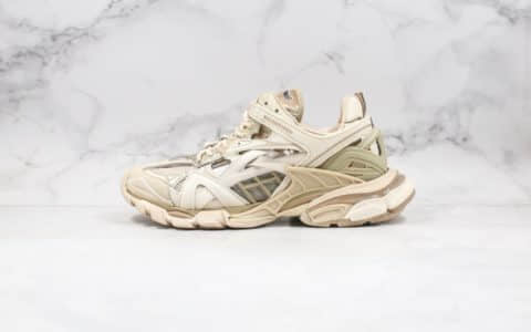 巴黎世家Balenciaga Track 4.0纯原版本米白色复古老爹鞋原厂数据开发原盒原标 货号:570391W2GN72009