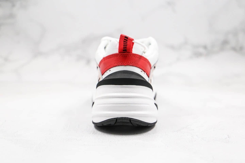 耐克Nike Air Monarch the M2K Tekno纯原版本复古老爹鞋M2K豆沙粉色原盒原标区别市面通货版本 货号:AO3108-205