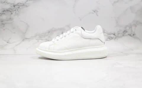 亚历山大Alexander McQueen sole sneakers纯原版本麦昆手绘夜光小白鞋原盒配件齐全正确丝绸牛皮鞋面