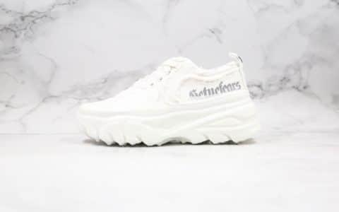 巴奴BANU X Gotnofears纯原版本罗志祥联名溶胶鞋白色原版开模