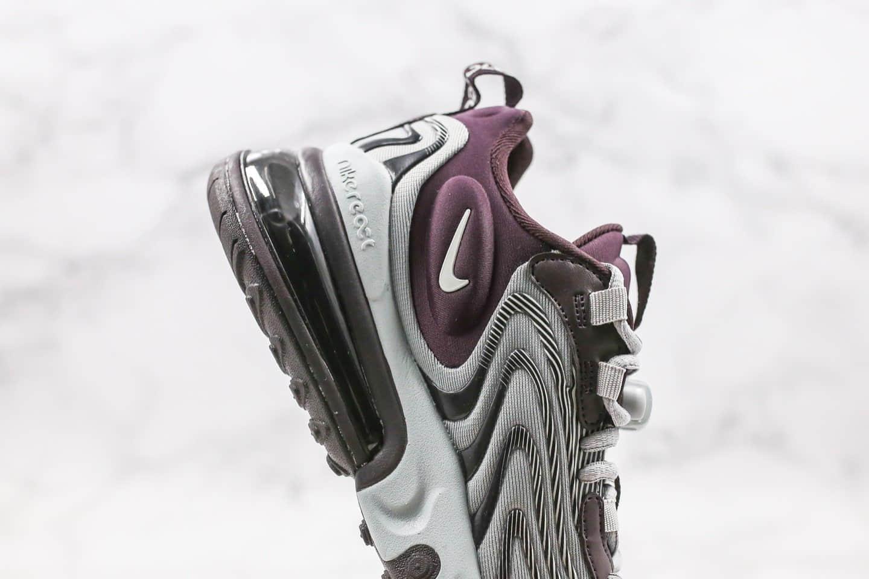 耐克Nike Air Max 270 Retro eng气垫鞋Max270纯原版本三代灰黑棕色后置半掌真气垫缓震原楦头纸板打造 货号:CK2595-600