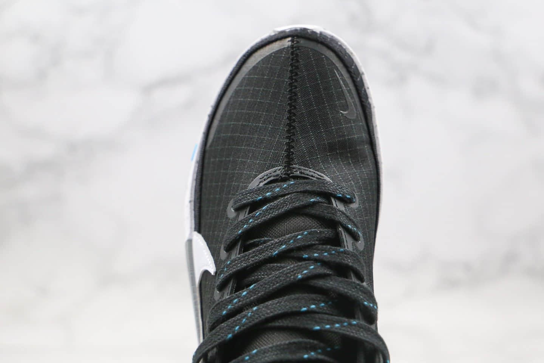 耐克Nike KD13 EP纯原版本杜兰特13代篮球鞋黑白色内置气垫支持实战 货号:CI9948-001