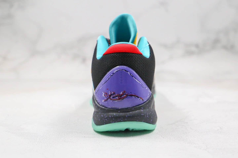 耐克Nike Zoom Kobe 5 Prelude纯原版本科比5代金黄绿色大师之路系列内置碳板气垫支持实战 货号:639691-700