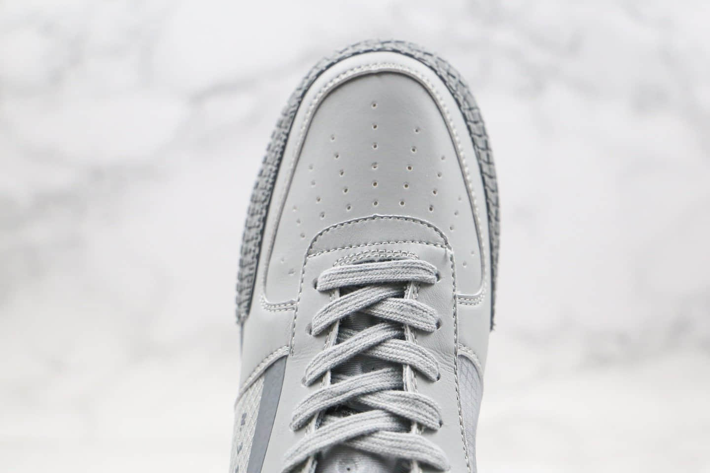 耐克Nike Air Force 1 Type 'N.354纯原版本低帮空军一号灰色解构机能鞋原盒原标原楦头纸板打造 货号:CT2584-001