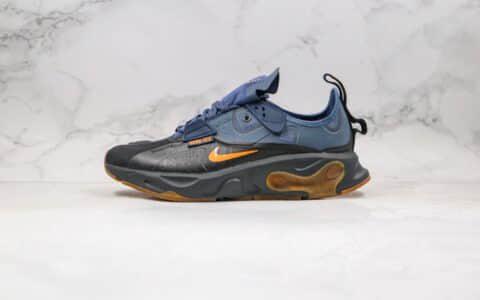 耐克Nike React-Type GTX N.354纯原版本联名款瑞亚机能黑蓝色原盒原标原档案数据开发 货号:BQ4737-001
