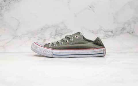 匡威Converse All Star Canvas Smoke High Top公司级版本全明星系列做旧烟熏脏脏鞋ins爆款 货号:159541F