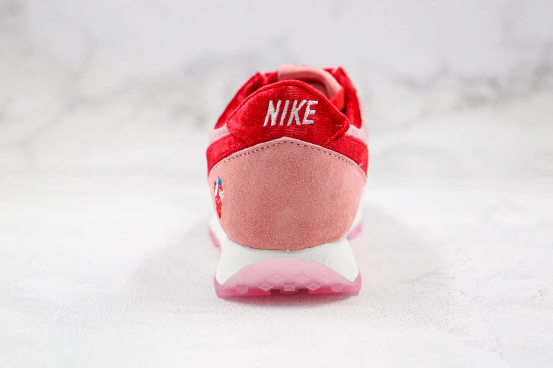 耐克Nike Wmns Air Daybreak x Strangelove纯原版本华夫破晓系列丝绒料慢跑鞋原盒原标原楦头纸板打造 货号:BV7725-800
