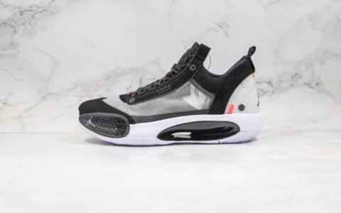 乔丹Air Jordan 34 PF纯原版本黑七彩色AJ34篮球鞋内置Zoom气垫支持实战 货号:CU3473-001