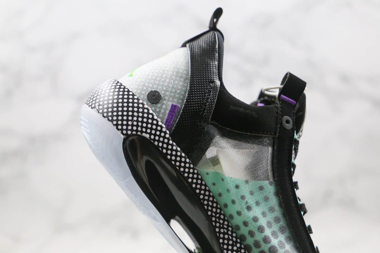 乔丹Air Jordan 34 SE PF Bred纯原版本黑绿色AJ34实战篮球鞋原鞋开模一比一打造 货号:CU3475-101