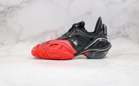 巴黎世家Balenciaga tyrex Sneaker Bicol Or Rubber Mesh Not Wash Black纯原版本五代黑红色复古鞋原楦头纸板打造原盒配件齐全