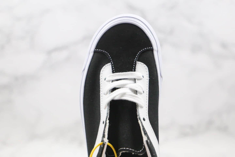 万斯Vans Bold Ni公司级版本小红书爆款吴亦凡同款低帮复古黑白硫化板鞋原盒原标 货号:VN0A3WLPOS7