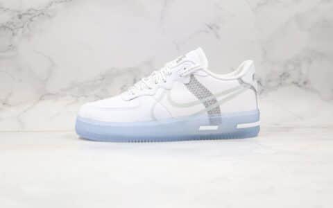 耐克空军一号骨白冰蓝波纹配色纯原版本出货