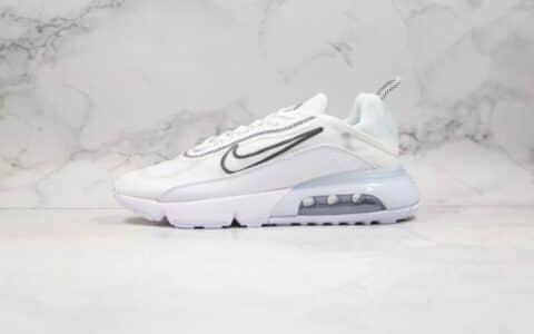 耐克Nike Air Max 2090纯原版本气垫鞋白黑色原盒原标原鞋开模一比一打造 货号:CK2612-100