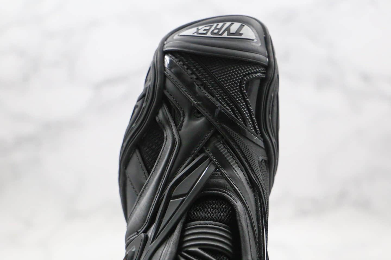 巴黎世家Balenciaga tyrex Sneaker Bicol Or Rubber Mesh Not Wash Black纯原版本复古老爹鞋第五代黑色原鞋开模正确细节全网首家实拍
