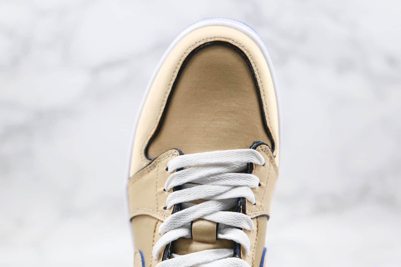 乔丹Air Jordan 1 Low纯原版本低帮SB板鞋撕撕乐鸳鸯棕色内置气垫原鞋开模一比一打造区别市面通货版本 货号:CJ7891-200