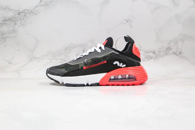 耐克Nike Air Max 2090纯原版本气垫鞋黑红迷