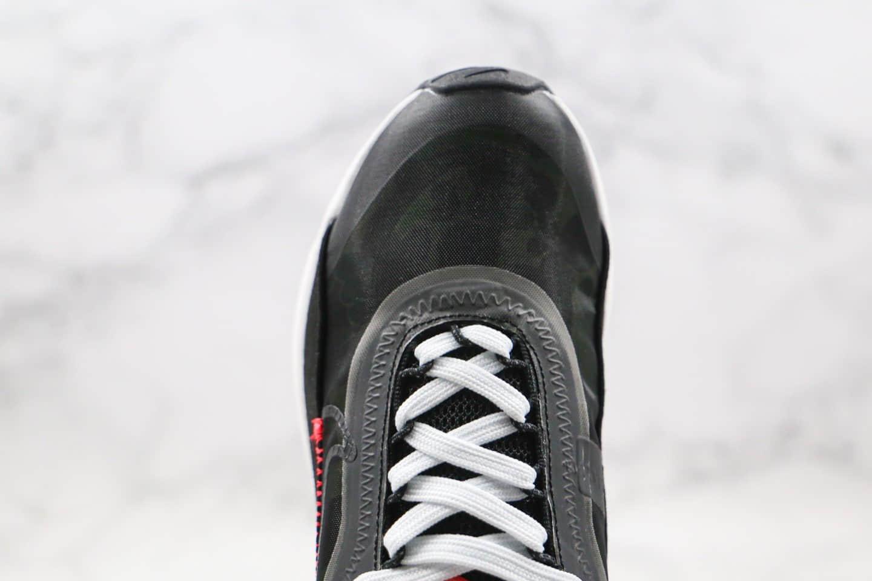 耐克Nike Air Max 2090纯原版本气垫鞋黑红迷彩配色内置真小潘气垫原楦头纸板打造 货号:CU9174-600