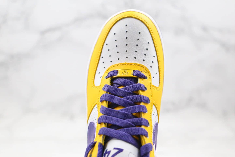耐克Nike Air Force 1 x Kobe纯原版本科比联名纪念款低帮空军一号黄绿色内置气垫原盒配件 货号:314192-151